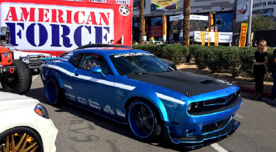 Exhibited in SEMA SHOW 2015