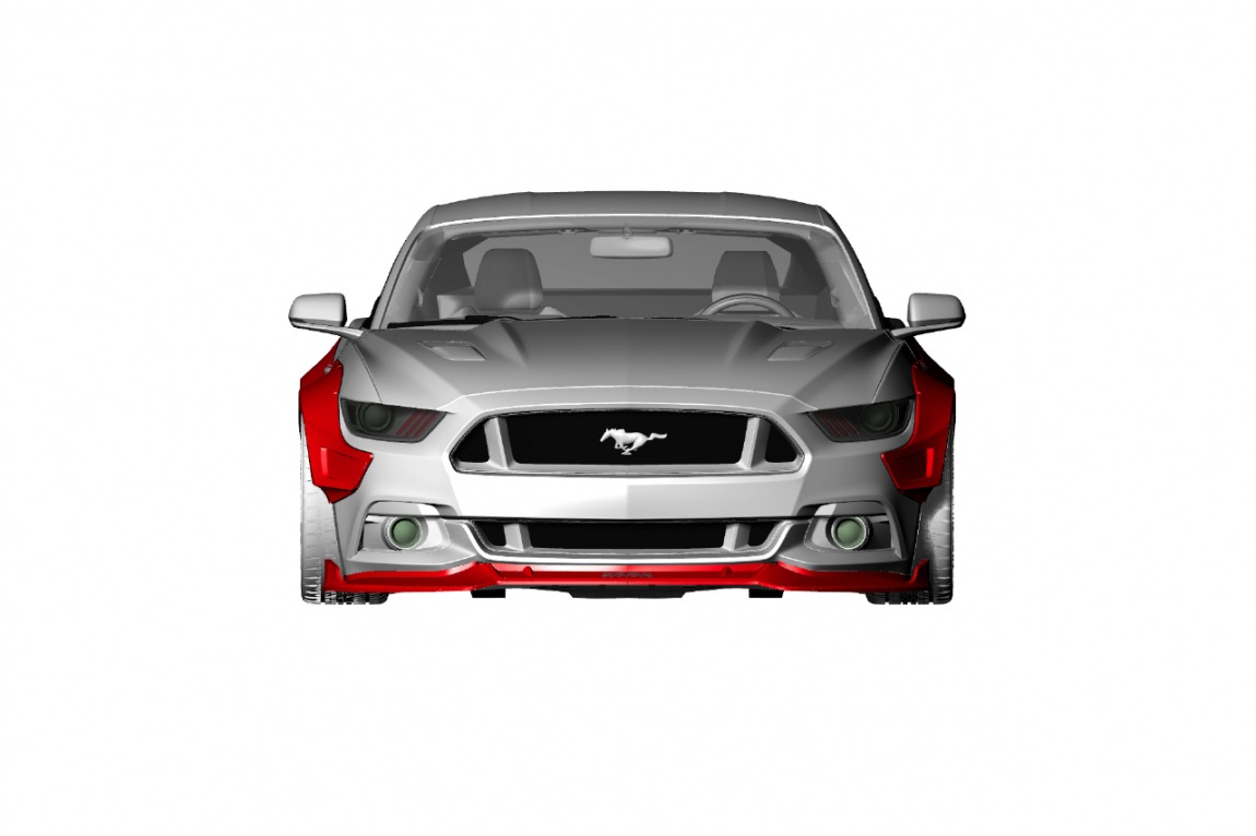 FORD MUSTANG R 11