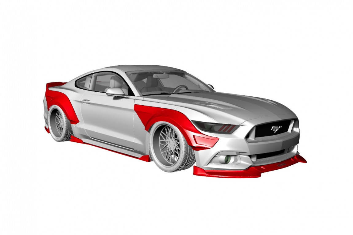 FORD MUSTANG R 12