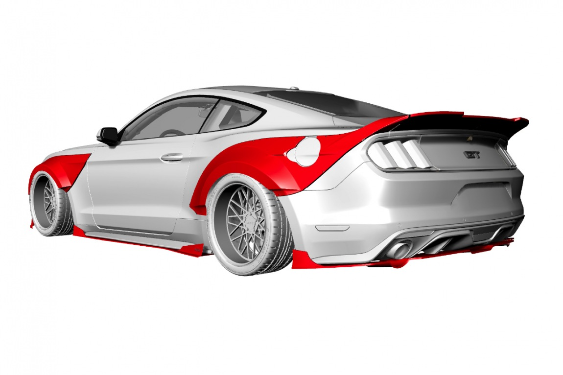 FORD MUSTANG R 15